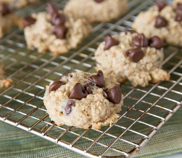Banana Oatmeal Chocolate Chip Cookies - Dinners, Dishes ...