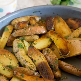 Pan Seared Mojo Potatoes
