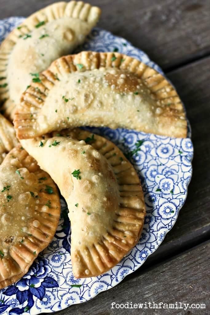 Shepherd's Pie Empanadas {Foodie with Family}
