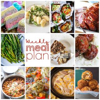 Weekly Meal Plan Week 90