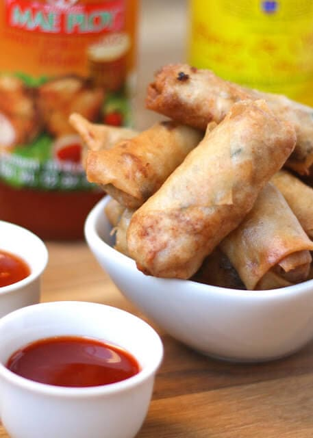 Filipino Lumpia {Barefeet in the Kitchen}