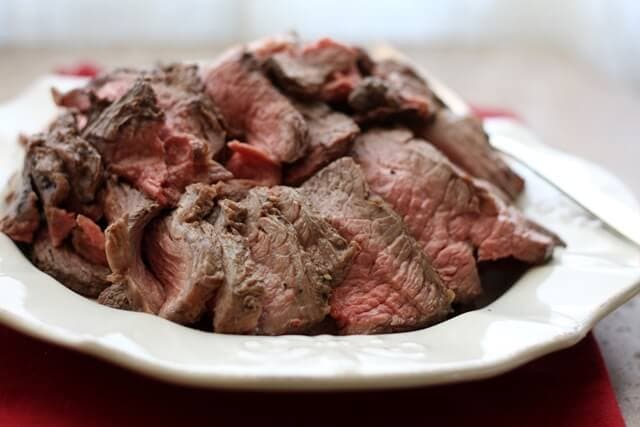 Crock Pot Roast Beef {Barefeet in the Kitchen}
