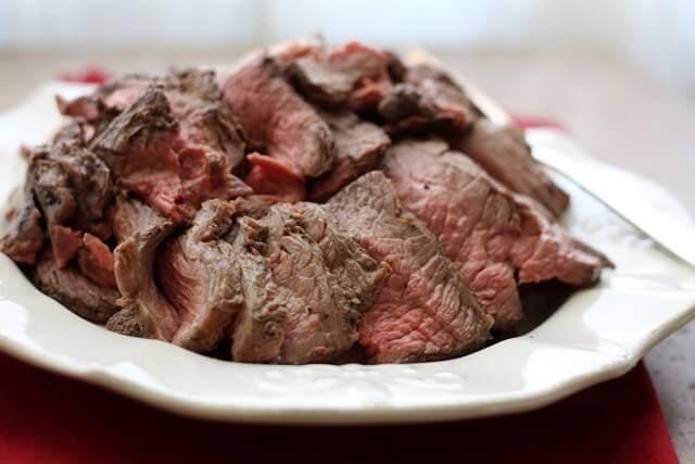 Crock Pot Roast Beef {Barefeet in the Kitchen}