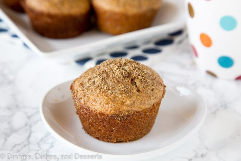 Bran Muffin Recipe - an easy recipe for bran muffins that you can make ahead and have in the fridge when you want to bake them! Super easy, and amazing warm with a little bit of butter.