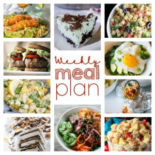 Weekly Meal Plan Week 96