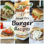 Must Try Burger Recipes