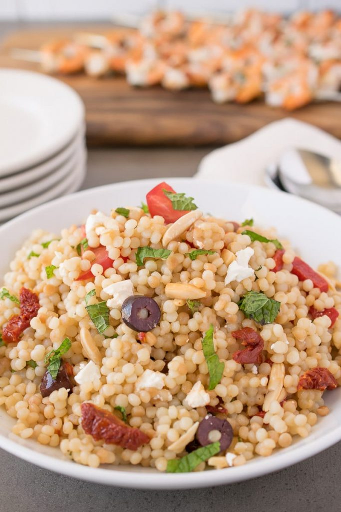 Mediterranean Couscous Salad {Culinary Ginger} - 19+ of the BEST Summer Potluck Recipes Roundup