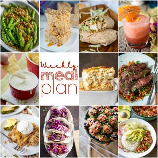 Weekly Meal Plan Week 99