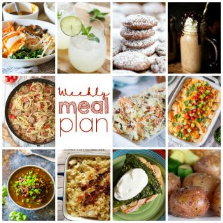 Weekly Meal Plan Week 101