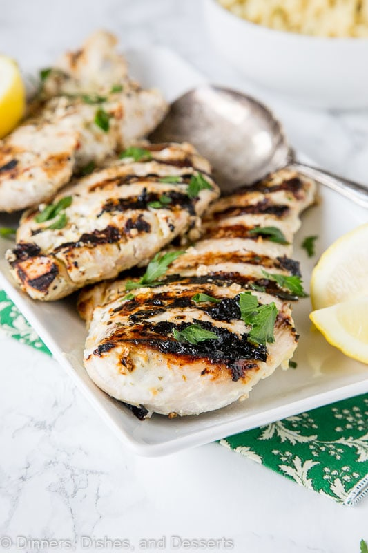 Yogurt Marinated Chicken - Dinners, Dishes, and Desserts