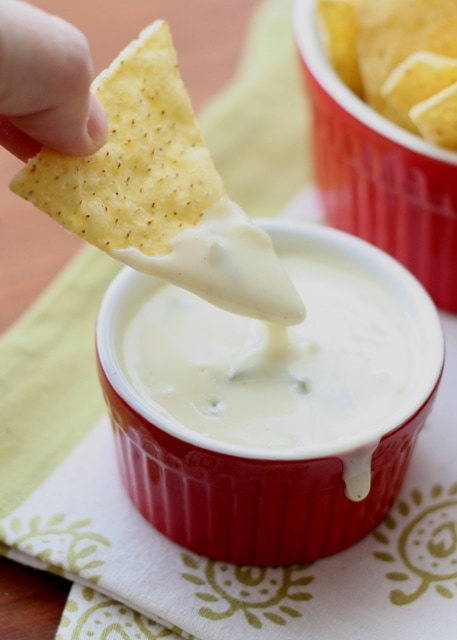 Queso Blanco Dip {Barefeet in the Kitchen}