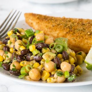 Southwestern Chickpea Salad