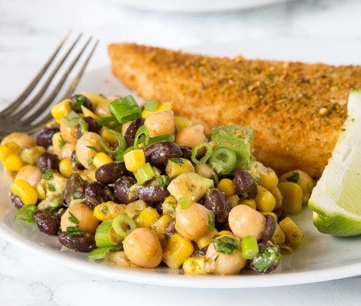 Southwestern Chickpea Salad