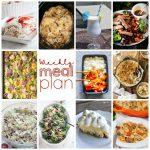 Weekly Meal Plan Week 102