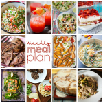 Weekly Meal Plan Week 104