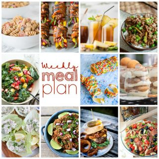 Weekly Meal Plan Week 103