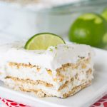 Key Lime Pie Ice Box Cake