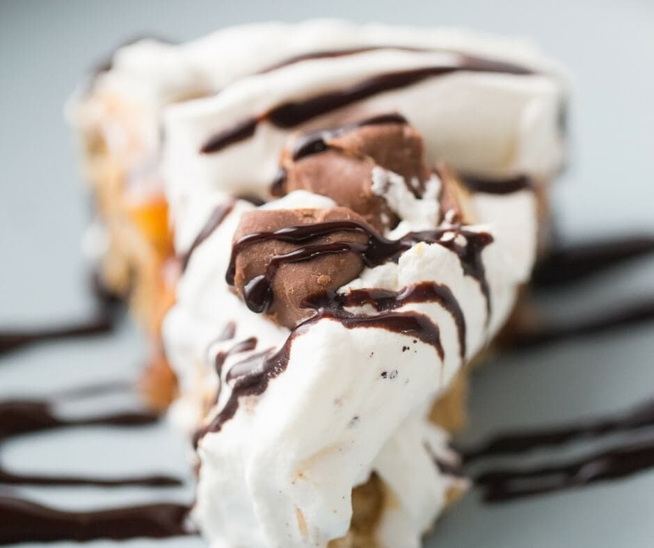 Salted Caramel Peanut Butter Pie {Lemons for Lulu}