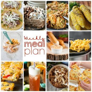 Weekly Meal Plan Week 107