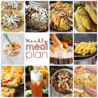Weekly Meal Plan Week 107
