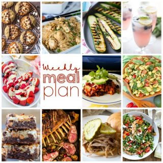 Weekly Meal Plan Week 108