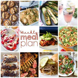 Weekly Meal Plan Week 108