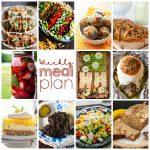 Weekly Meal Plan Week 109