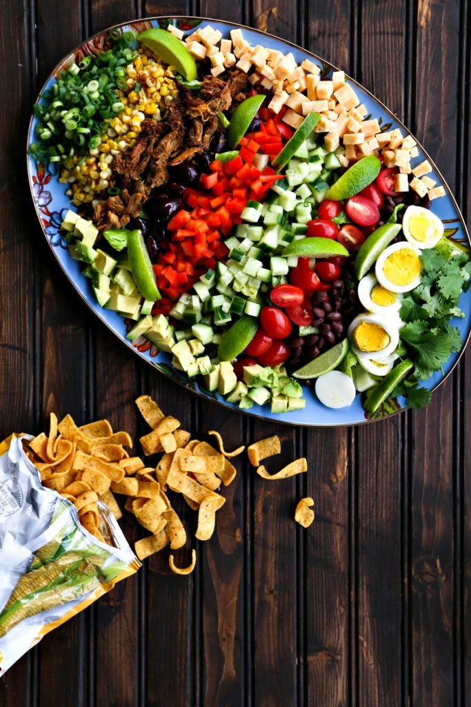 Tex-Mex Cobb Salad {Foodie with Family}