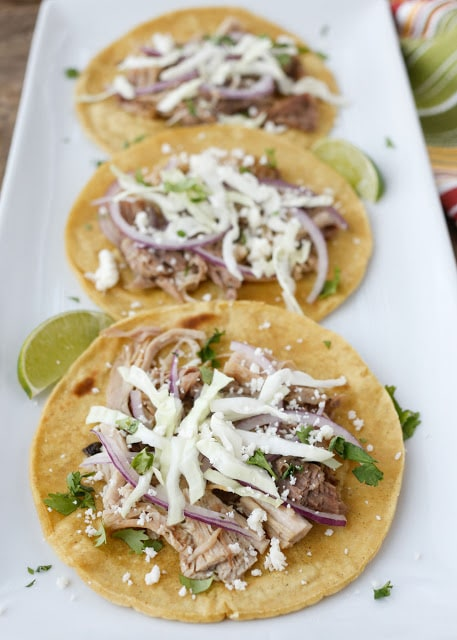 Carnita Street Tacos {Barefeet in the Kitchen}