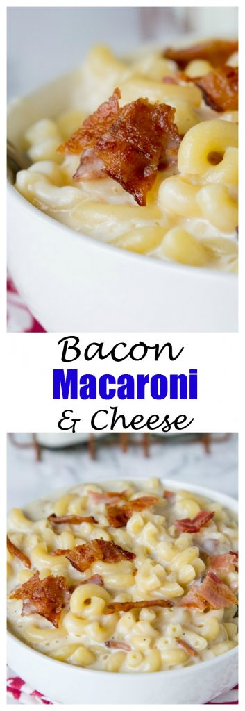 Bacon Macaroni And Cheese