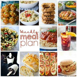 Weekly Meal Plan Week 112