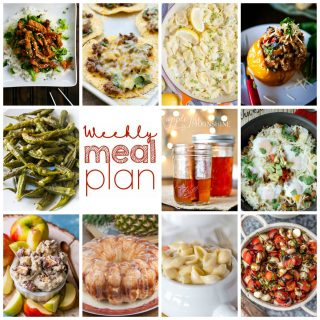 Weekly Meal Plan Week 113