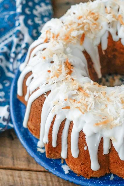 Best Coconut Pound Cake {Barefeet in the Kitchen}