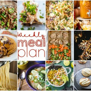 Weekly Meal Plan Week 118