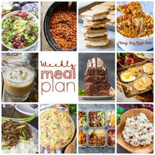Weekly Meal Plan Week 117