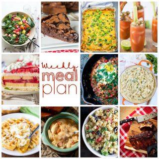 Weekly Meal Plan Week 115