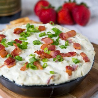 Baked Blue Cheese Dip