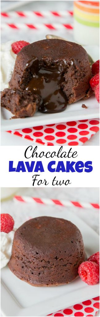 Chocolate Lava Cakes - chocolate molten lava cake is a decadent and indulgent dessert that is way easier to make at home than you think!