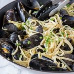 Linguine with Mussels Recipe