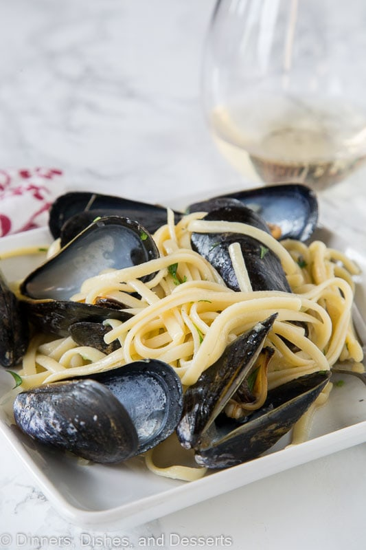 How to cook mussels - with linguine