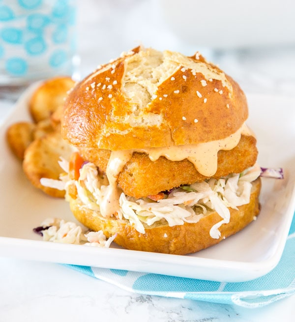 Spicy Fish Sandwich