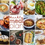 Weekly Meal Plan Week 121
