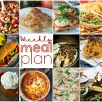 Weekly Meal Plan Week 119