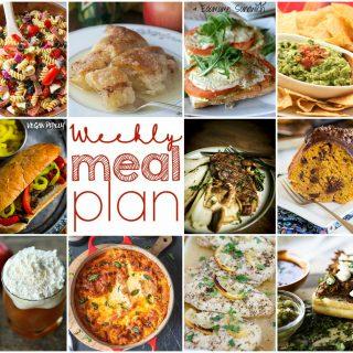 Weekly Meal Plan Week 119