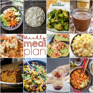 Weekly Meal Plan Week 120