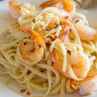 All the tips and tricks you need to know how to saute shrimp for pasta! A comforting shrimp pasta is just minutes away.