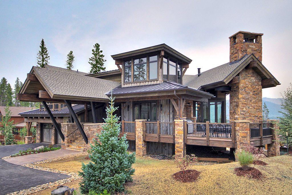 The Overlook house in Breckenridge CO