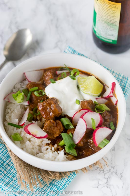 Texas Chili Recipe - Texas style chili made for a weeknight!
