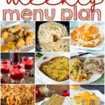 Weekly Meal Plan Week 122