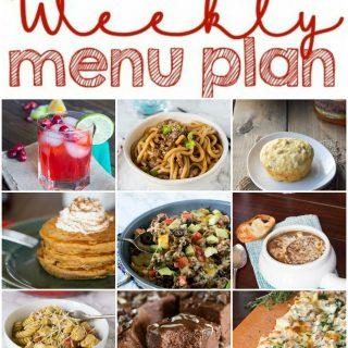 Weekly Meal Plan Week 125